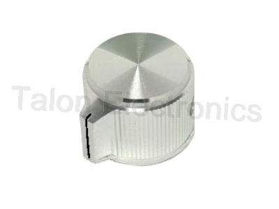 "Aluminum Pointer Knob for .250"" Shafts KPN-700A-1/4"