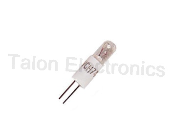 747BP T1-1/4 Subminiature Bi-Pin Lamp 12V 30mA