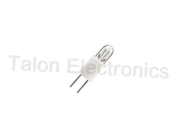 8-2417 Lamp - T-1 Subminiature Bi-Pin 12V 60mA