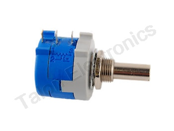 Multi-turn Precision Panel Mount Potentiometers