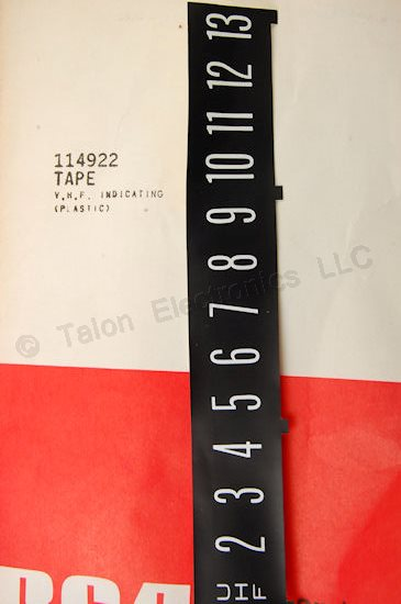 RCA - TCE 114922  Indicating Tape