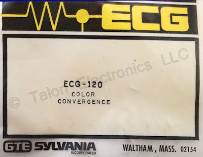 ECG120 Color TV Convergence Rectifier