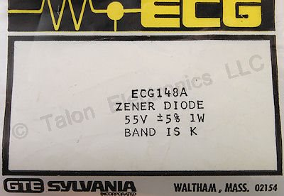 ECG148A 55V 1W Axial Lead Zener Diode