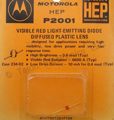 HEP-P2001 Surface Mount Red LED