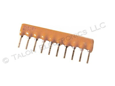 33 ohm 10 Pin Isolated Resistor Network Bourns 4610X-102-330
