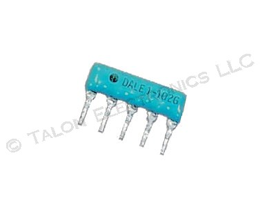 1.0K  ohm 5 Pin Bussed Resistor Network CSC05A01102G
