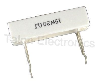 20 ohms 15W Radial Wirewound Power Resistor
