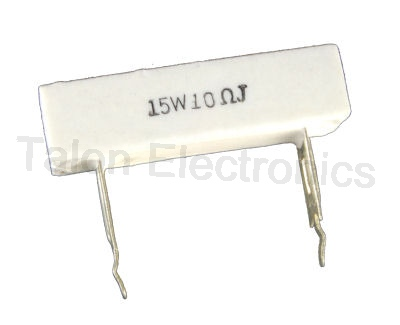 10 ohms 15W Radial Wirewound Power Resistor