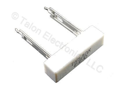 3.3 ohms 7W Radial Wirewound Power Resistor