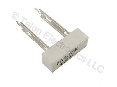 4.7 ohms 5W Radial Wirewound Power Resistor