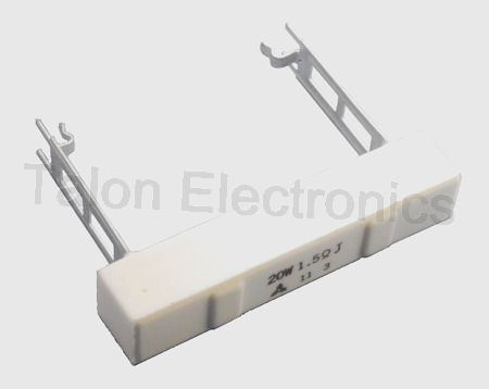1.5 ohms 20W Radial Wirewound Power Resistor