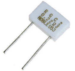 0.22 ohms 2W Radial Wirewound Power Resistor