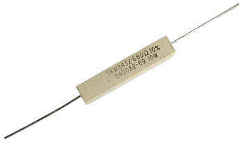 680 ohms 10W Axial Wirewound Power Resistor - Pack of 4