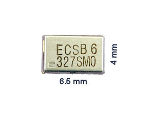32.768 KHz Clock Oscillator SMD package
