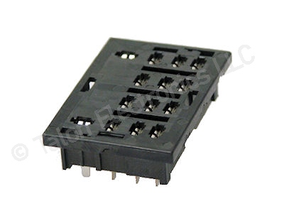 14 pin PC Mount Relay Socket
