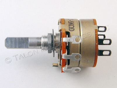 Sony 1-221-124-00  5K Ohm Potentiometer with DPST Rotary Switch