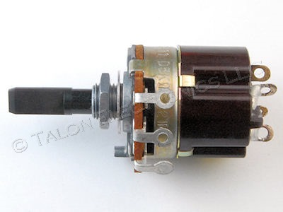Sony 1-222-687-00  5K Ohm Potentiometer with Pull-On-Push-off Switch