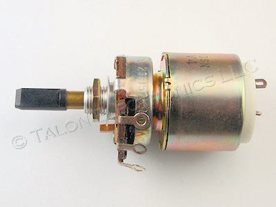 Sony 1-224-377-00  50K Ohm Potentiometer with 4A DPST Pull-On-Push-Off  Switch