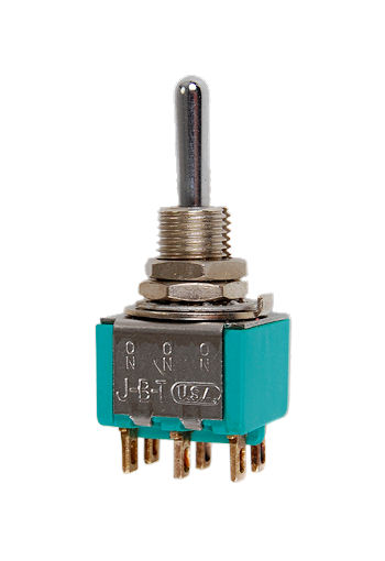 DPDT  ON-ON-(ON) Miniature Toggle Switch