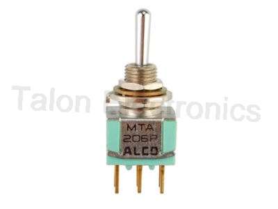 DPDT ON-OFF-ON Miniature Toggle Switch