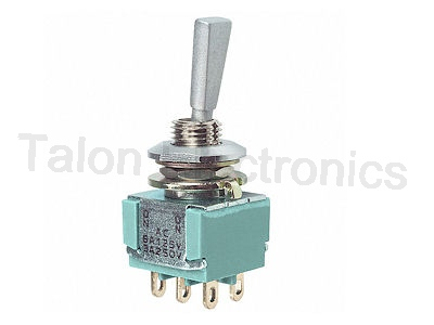 DPDT ON-(ON) Miniature Toggle Switch MTF 206R