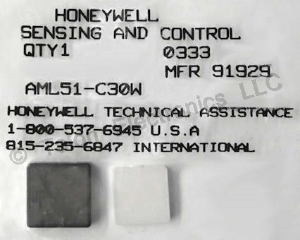 Honeywell AML51-C30W Button/Lens for Switches and Indicators