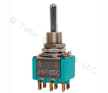 DPDT  ON-OFF-(ON) Miniature Toggle Switch