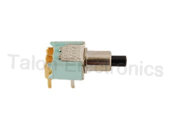 SPDT Momentary Miniature Pushbutton Switch TPB11FG-RA-0