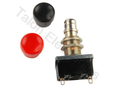 SPST Momentary Pushbutton On-Off Switch Arrow Hart