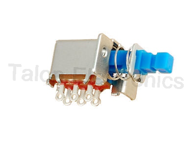 DPDT ALPS Miniature Pushbutton Switch