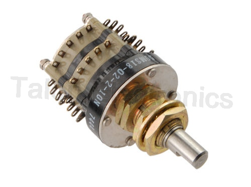 10 Position 4 Pole Rotary Switch Grayhill 59MS18-02-2-10N