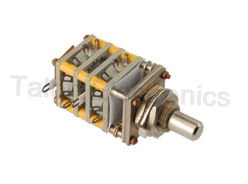 6 Position 4 Pole Rotary Switch Electroswitch MA12-2MA226