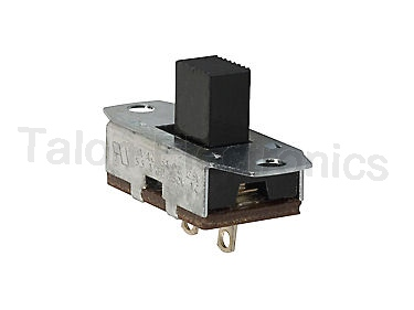 SPST OFF-(ON) Panel Mount Slide Switch  CW G-331