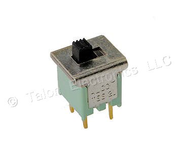 DPST ON-ON PC Mount Slide Switch Alcoswitch TSS21KGPC