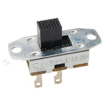 DPST ON-OFF Slide Switch  CW  GF-325-0000