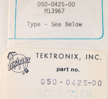 050-0425-00 Tektronix Modification Kit