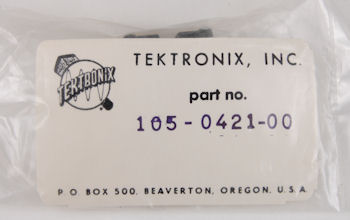 105-0421-00 Tektronix Switch Actuator Assembly