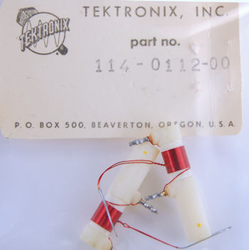 114-0112-00 Tektronix Variable Inductor