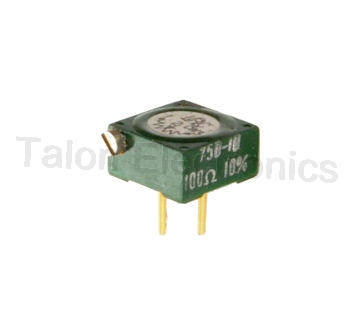100 Ohms Multiturn Trimmer Potentiometer
