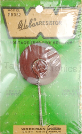 Workman FR052 Disc Varistor 105K ohms  125V