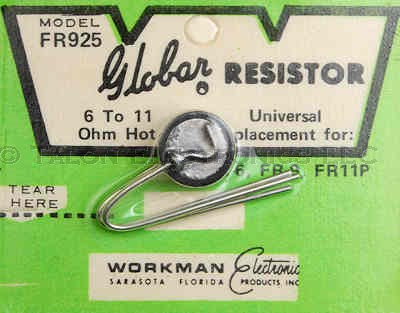 Workman FR925 Thermistor 6-11 Ohms Hot